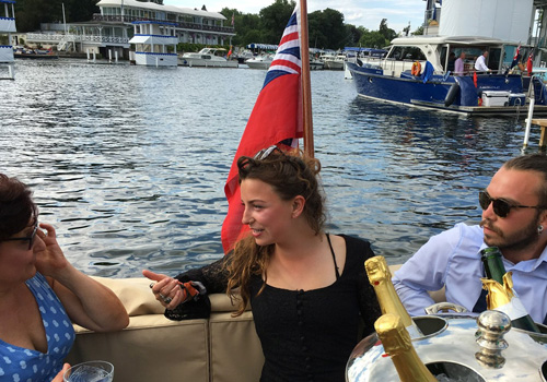 Entertaining at Royal Henley Regatta