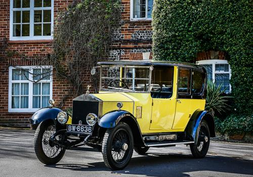 1923 Rolls Royce 20 HP Barker Limousine
