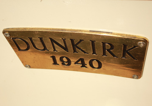 Dunkirk name plate