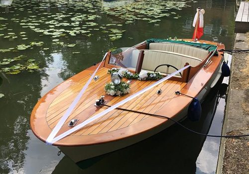 1950s open cockpit Venetian aunch